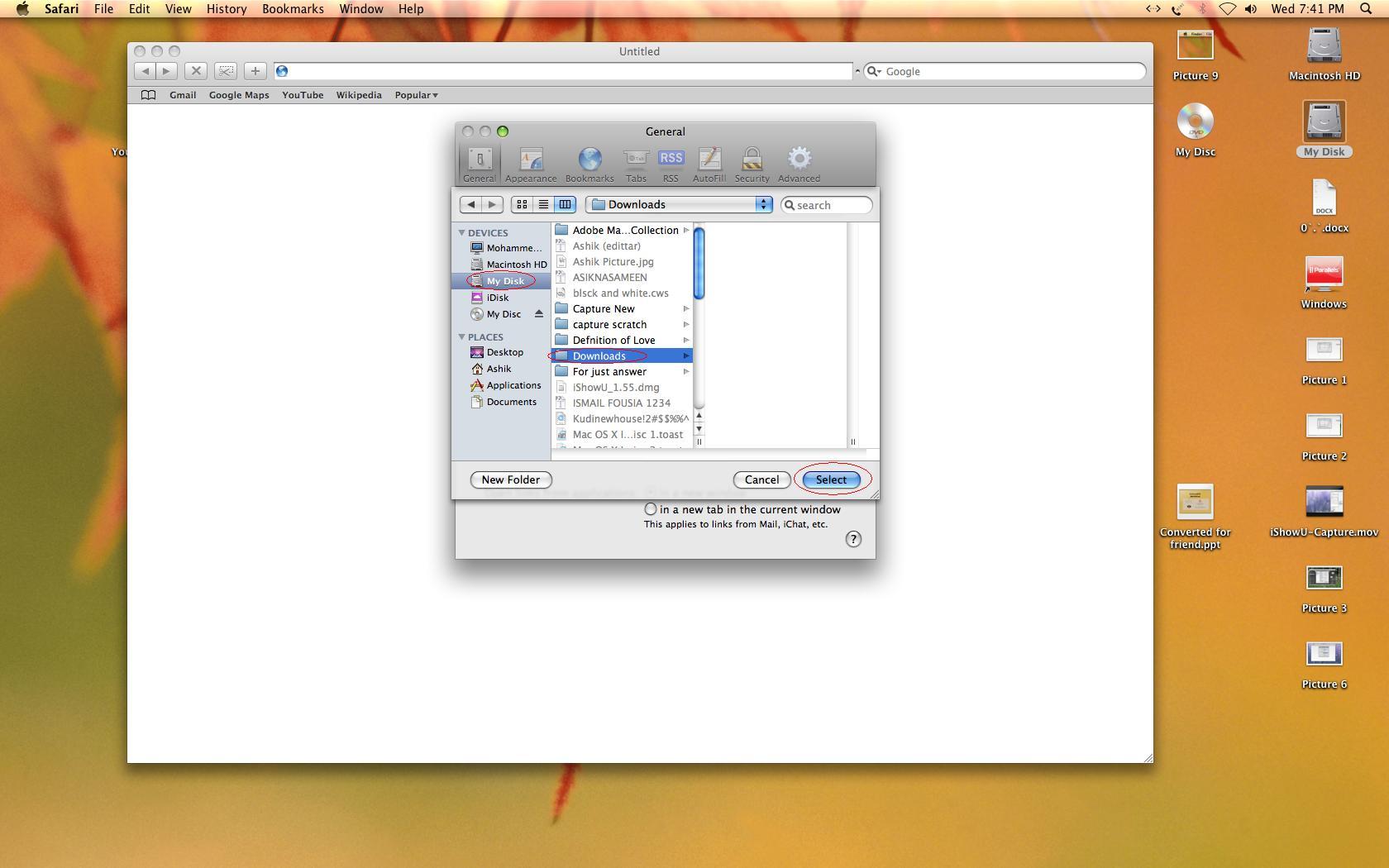 unable to download pdf files in safari