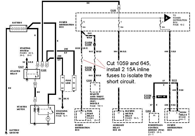2003 explorer wiring diagram anti theft