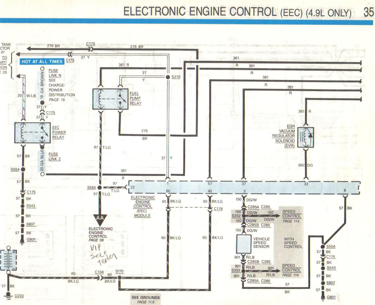 Injector Problem On 1988 F150  4 9 Ltr Efi  2wd  It Ran
