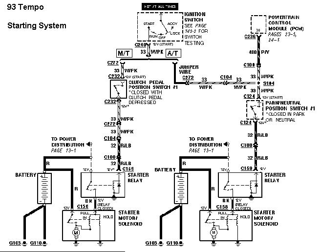 1994 Ford Tempo Wiring Diagrams wiring diagrams image