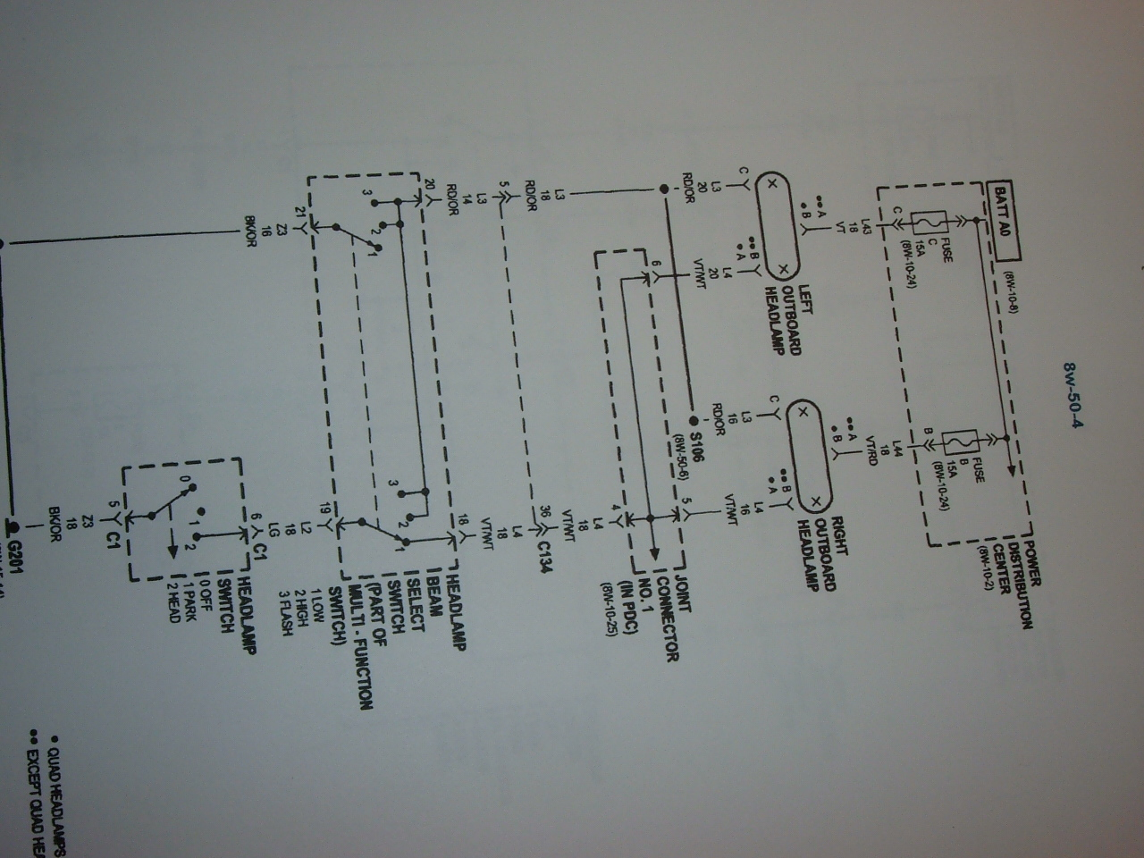 Why Are My Low Beam Headlamps Lights Out While The Highbeams Still 2008 Dodge Ram Wiring Diagram Headlights Fog Graphic