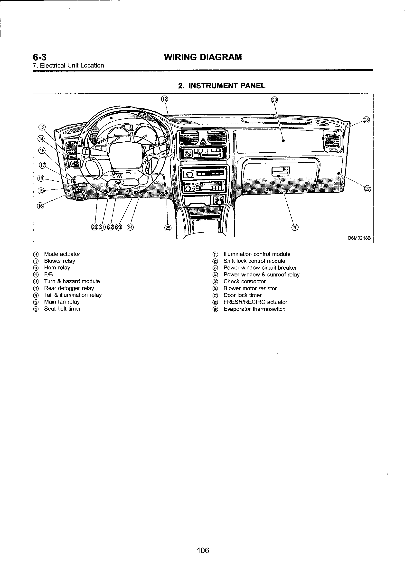 1995 mazda b2300 alternator wiring diagram mazda b2300