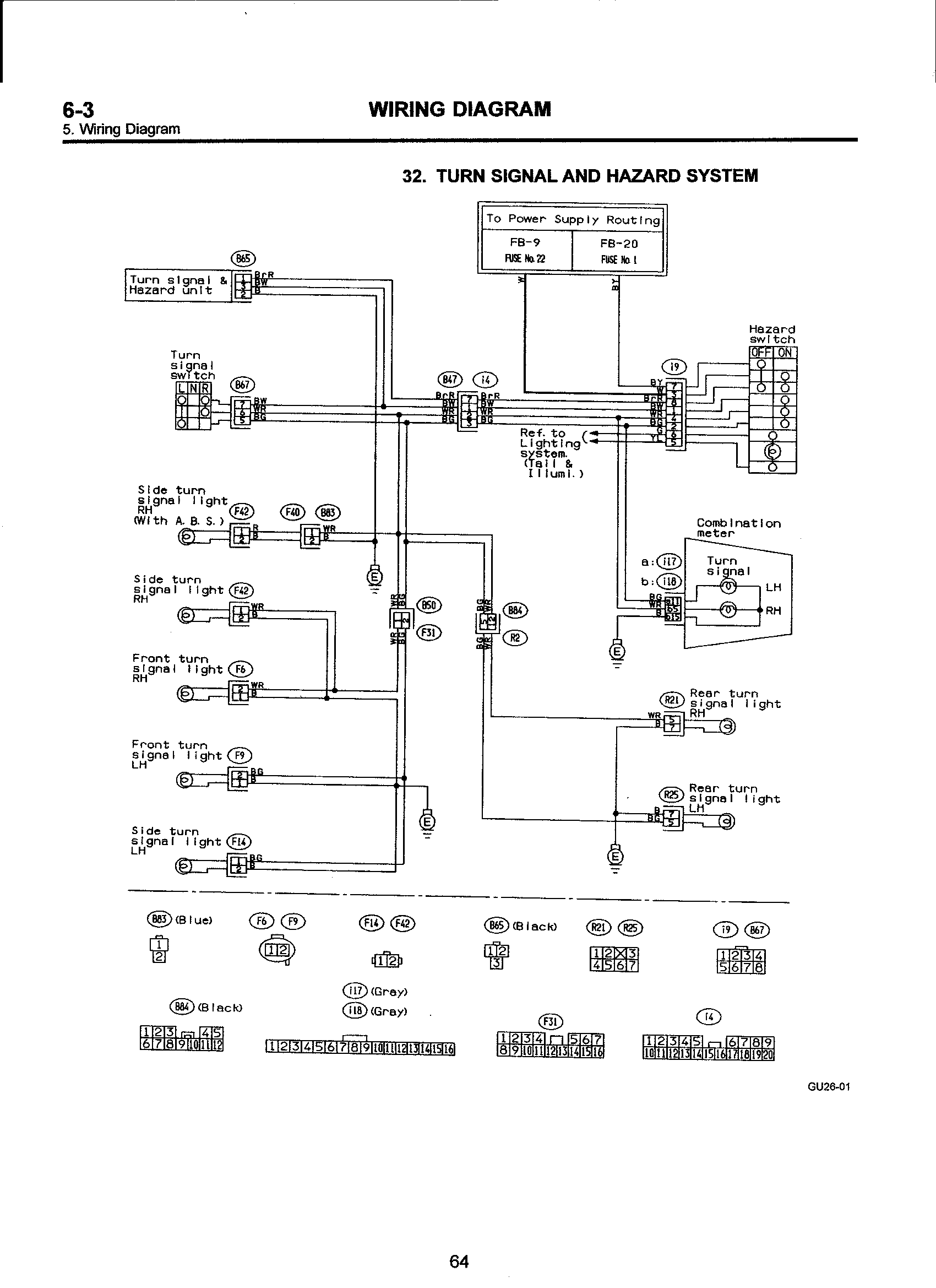I Need An Electrical Diagram For A 1993 Subaru Impreza