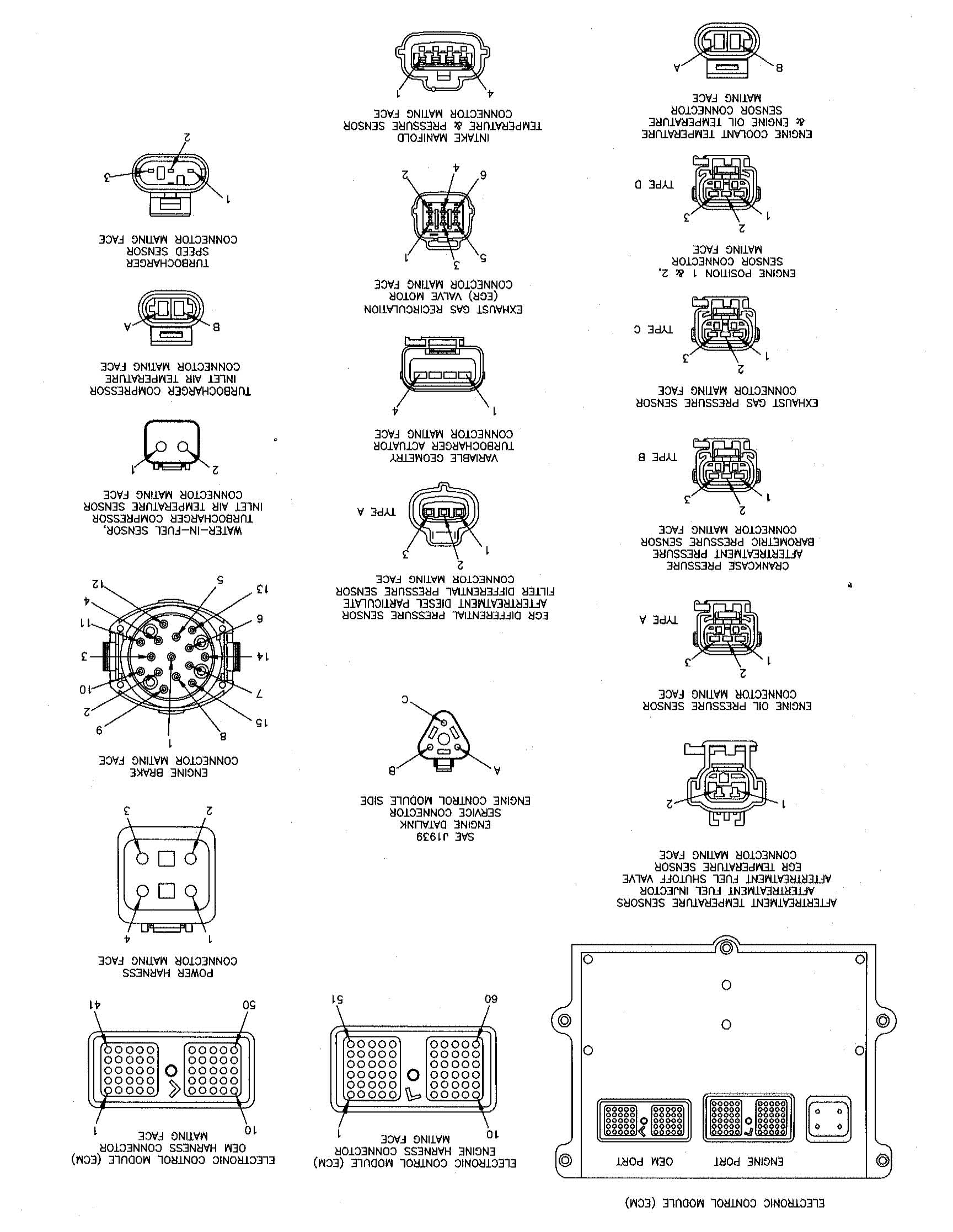 i need ecm pinout for ism cummins engine i do not care 6 connector wiring diagram 6 pin deutsch connector wiring diagram