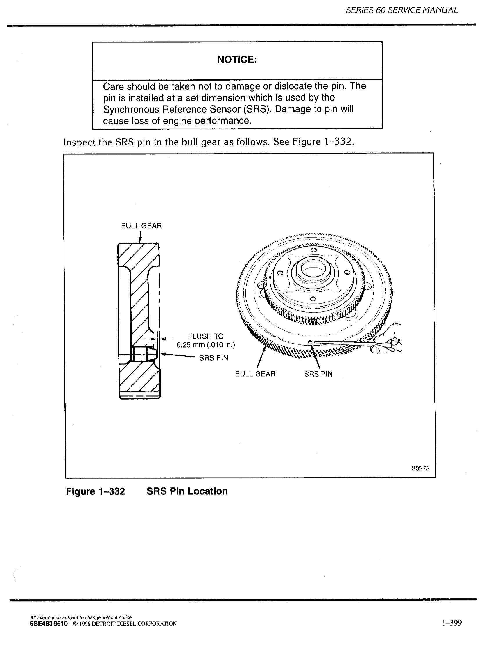 I have a 2004 Series 60 Detroit 14 liter EGR engine that we