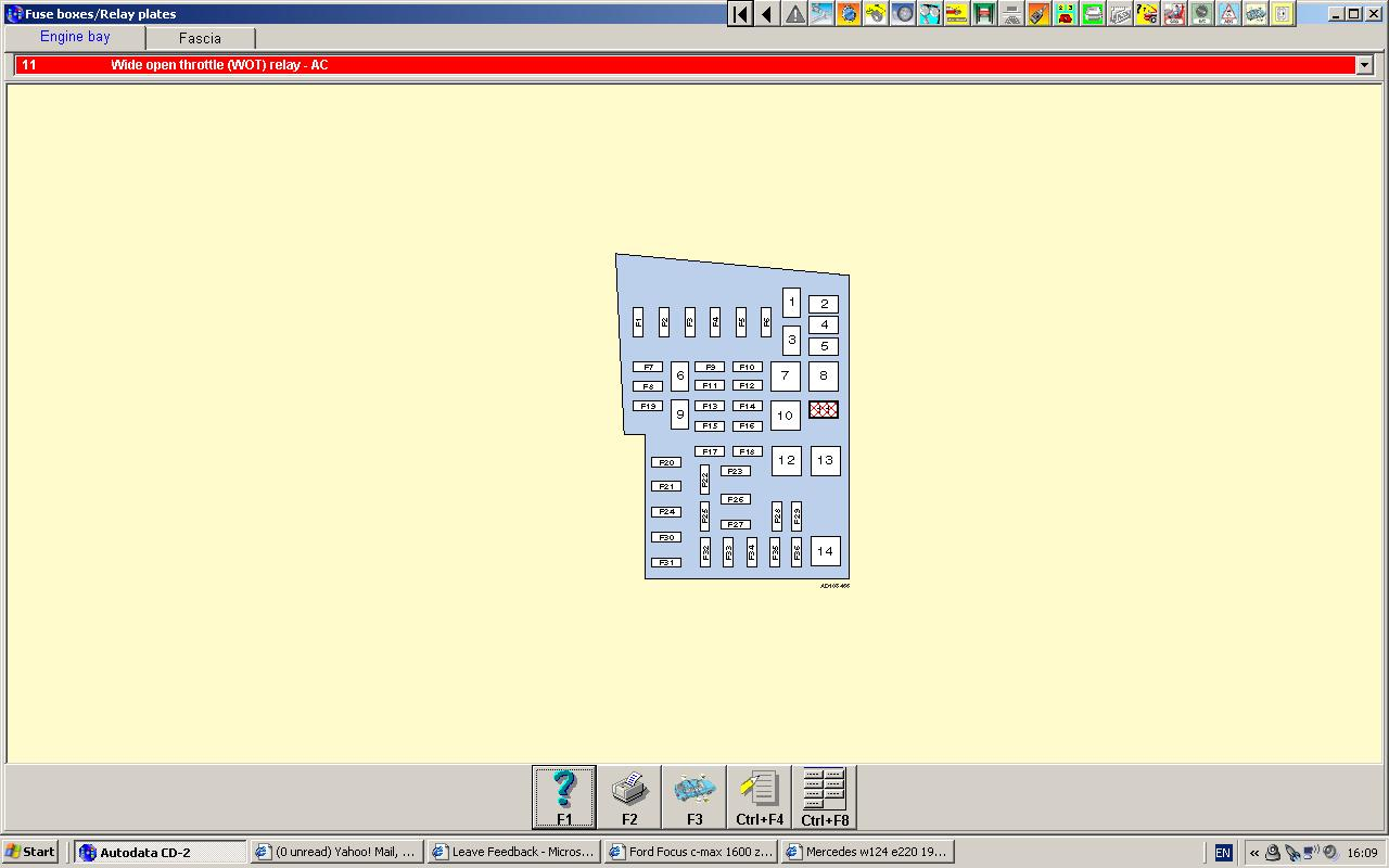 Ford C Max 2006 Fuse Box Location Trusted Wiring Diagram 2009 Focus 2004 Air Conditioner Auto Electrical Filter