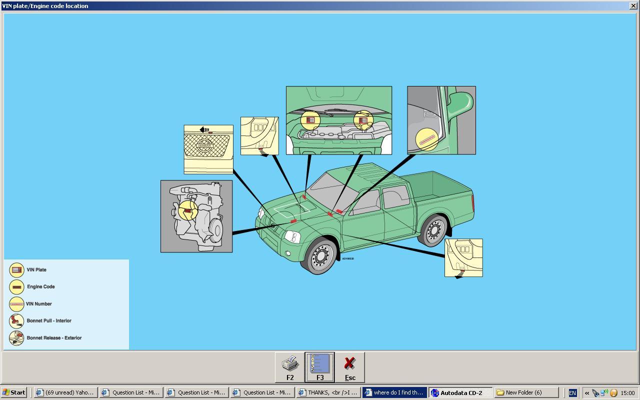 2007 Nissan Navara Engine Diagram