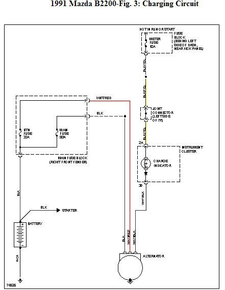 mazda b2200 wiring auto wiring diagram preview 1986 Mazda B2000 Wiring-Diagram