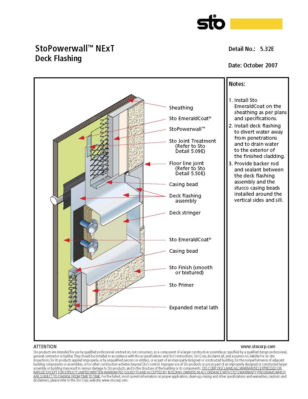 I need to install flashing under the ledger board on an existing ...