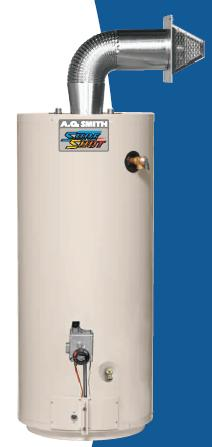 Direct Vent Gas Water Heater Power Vented Gas Fired Water