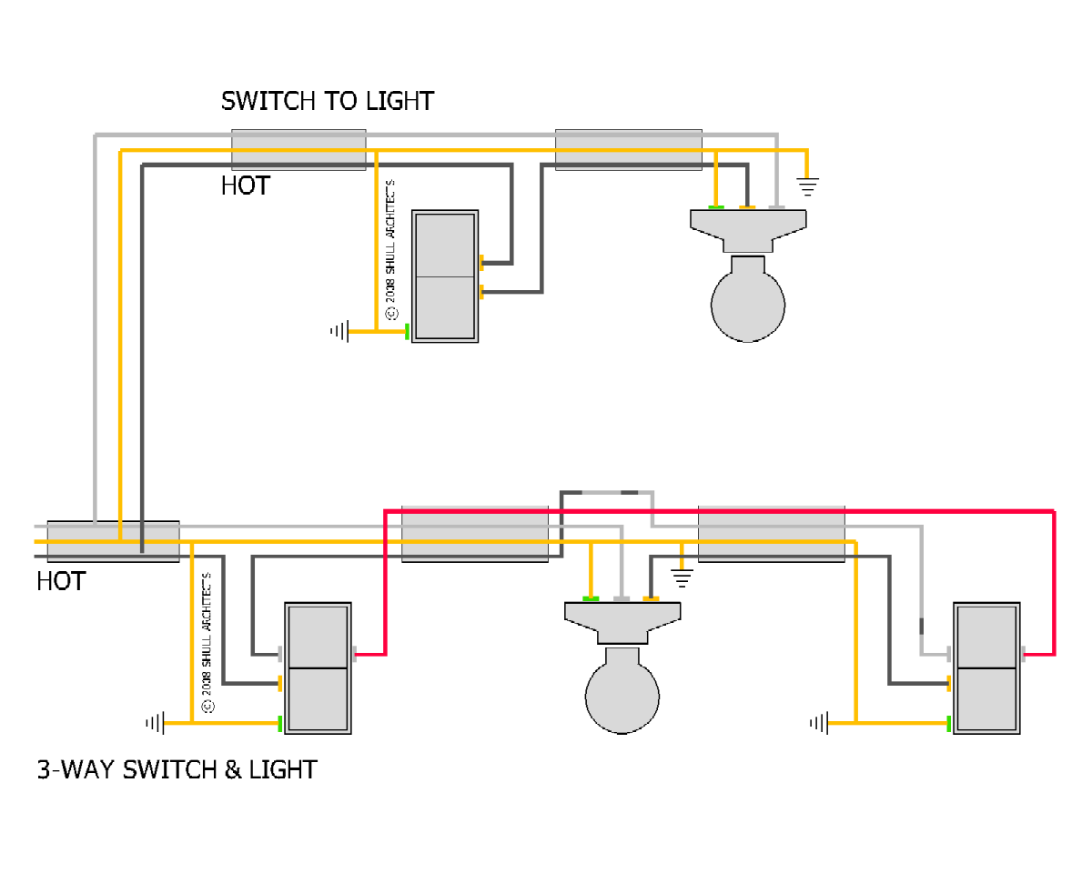 I Have Basement Lighting With 2 Switches  One In The
