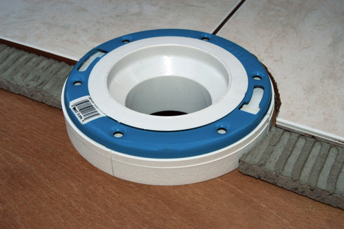 I Have A Toilet To Set The Flange Sits To High Above The