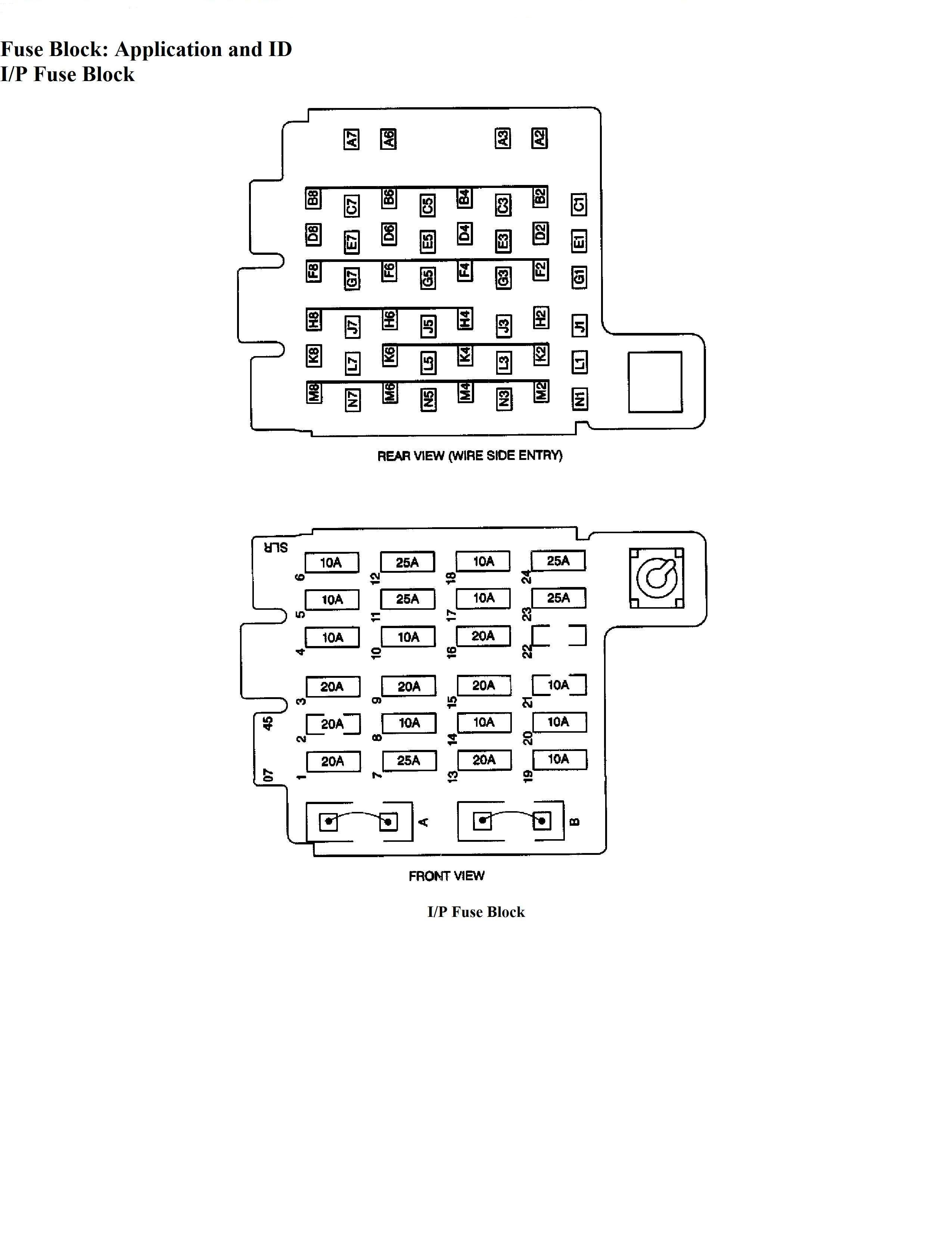 2002 Chevy Trailblazer Fuse Box Schematic Diagrams For A 2006 Diagram 2005 Chevrolet Layout Trusted Wiring Location