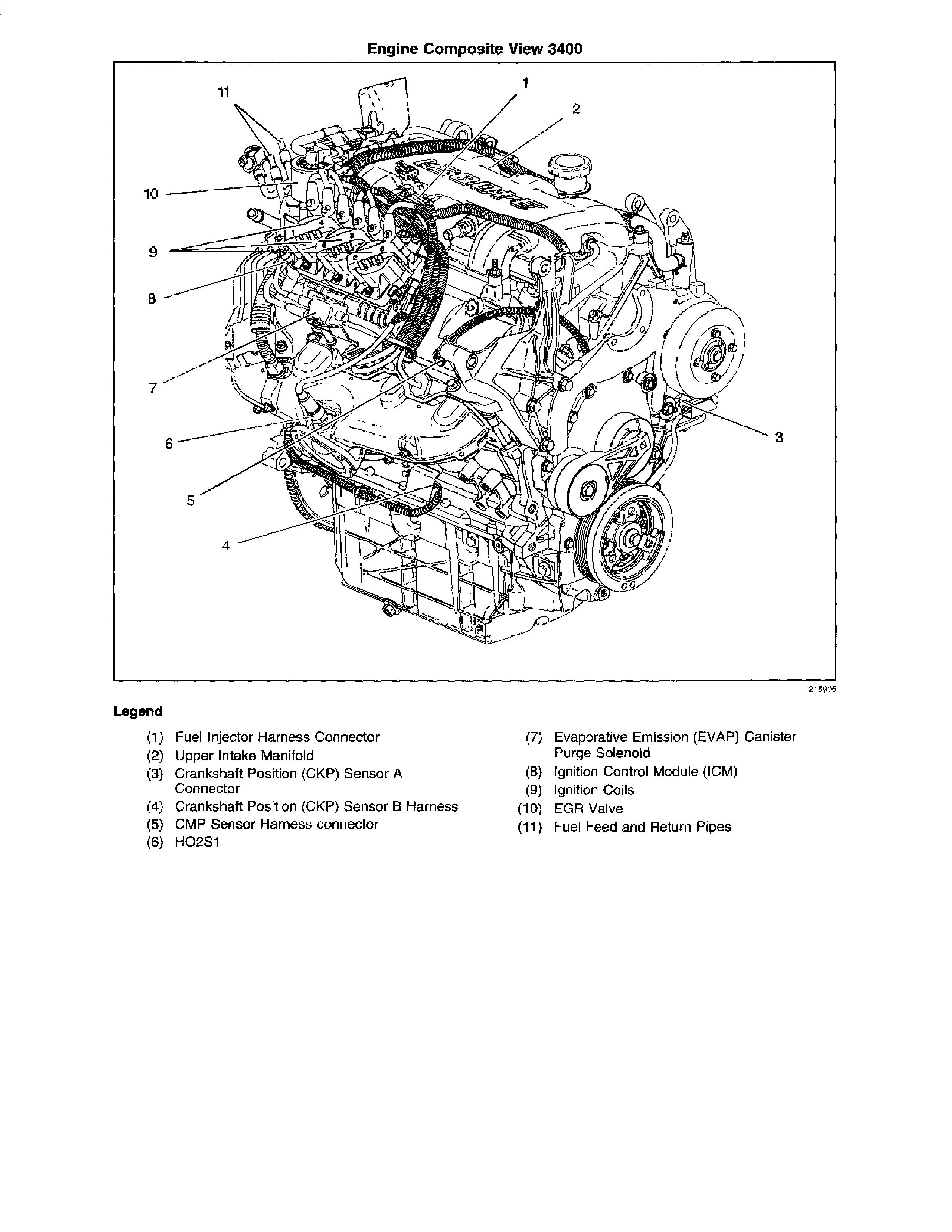We Have A 2002 Pontiac Montana Which Is Showing An Ignition Control Circuit Problem  The Number