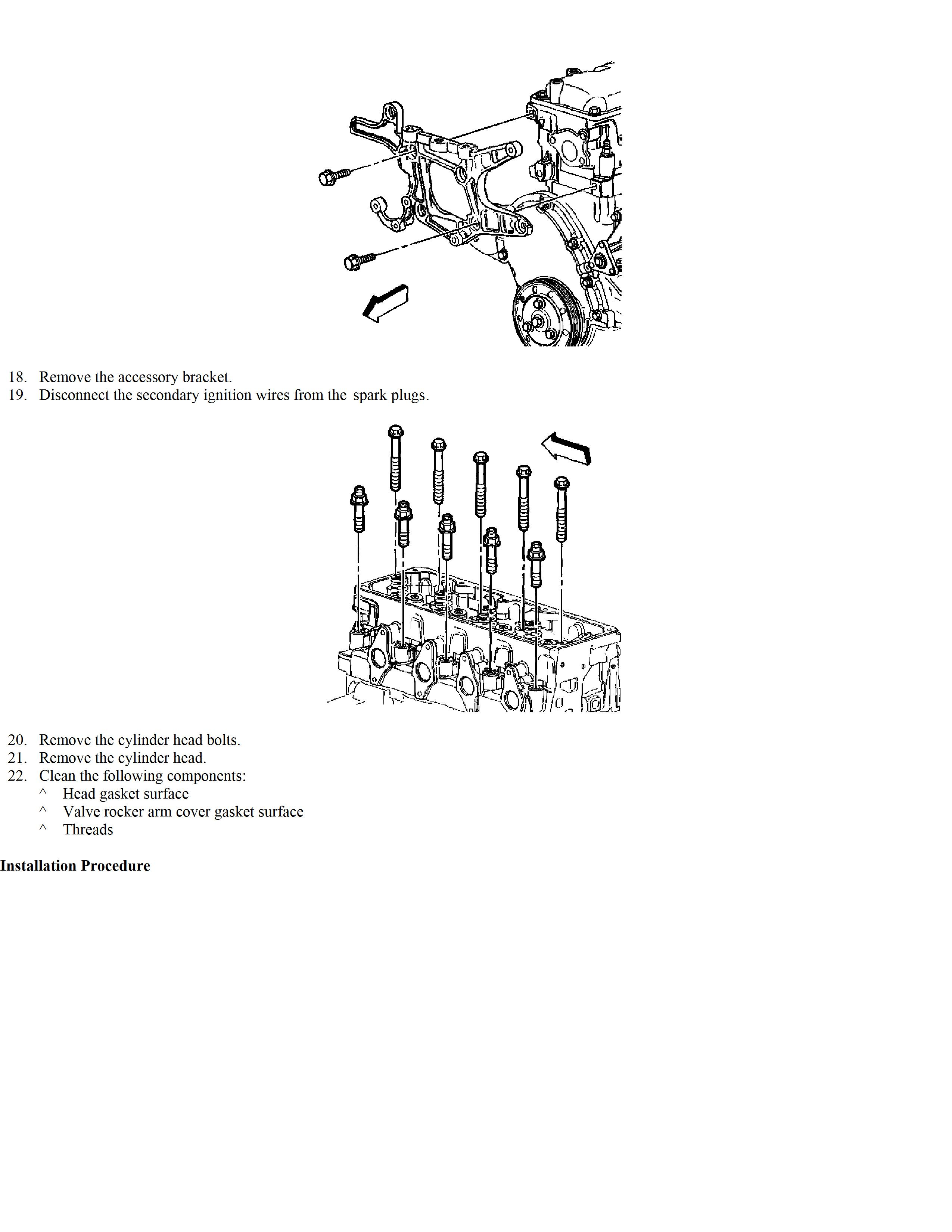 How Do I Remove The Head Gasket From My 2002 Chevy Cavalier