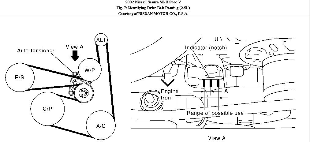 2007 nissan sentra ser engine diagram