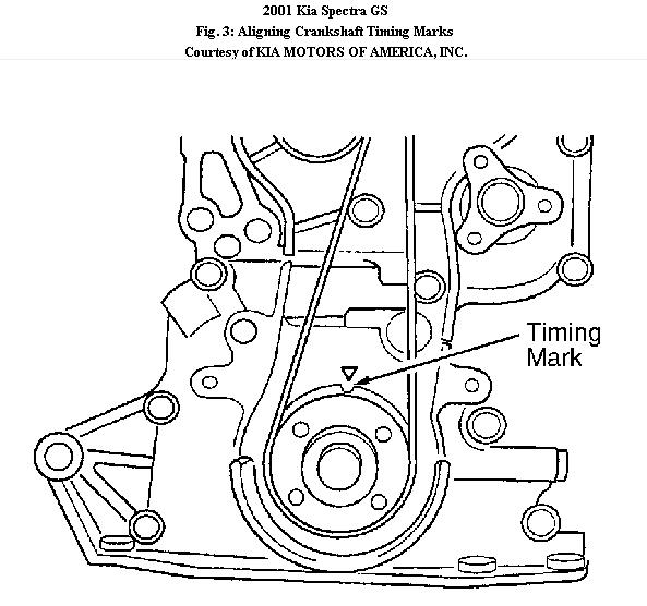 2007 kia spectra timing belt diagram  kia  auto parts