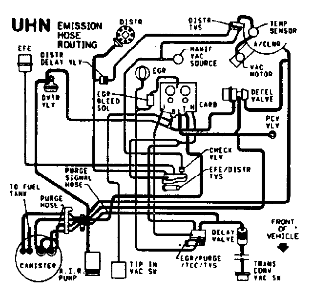i need a vacuum hose diagram for a 1985 chevy truck