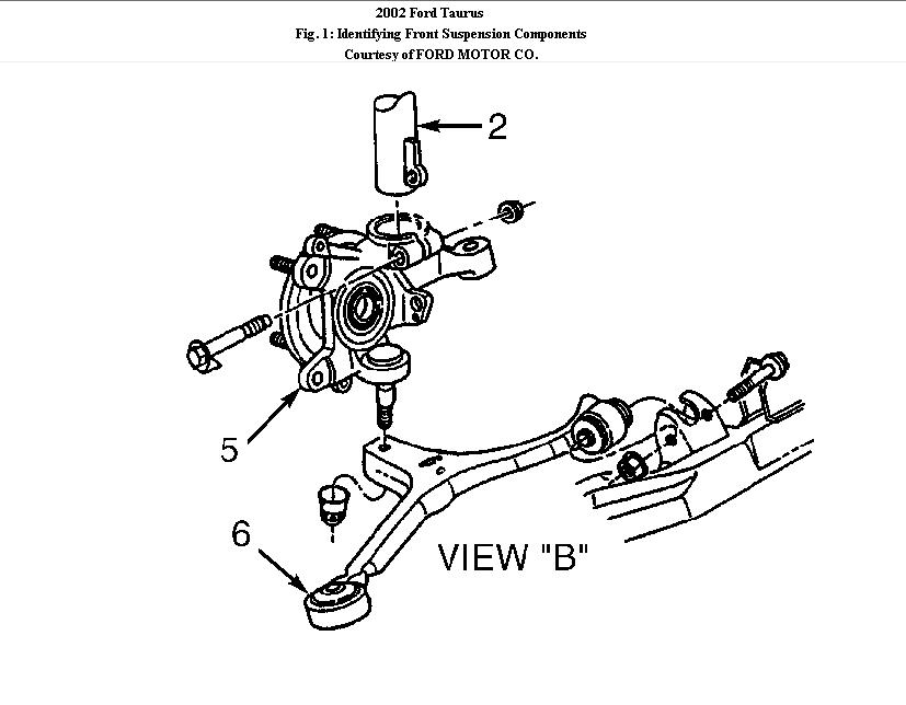 i am replacing both front strut assemblies on my 2002 ford taurus sedan  according to my chilton