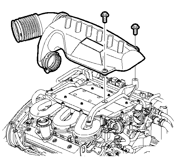 how do you change the throttle body on a 2002 saturn vue v