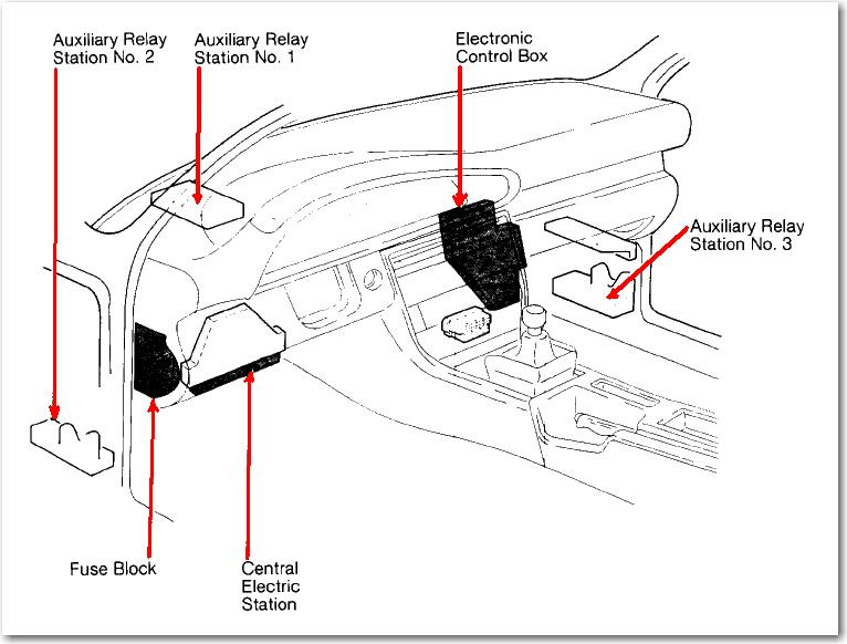 2001 audi a6 quattro relay diagram