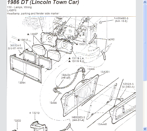 service manual  how to remove headlight 1992 lincoln town