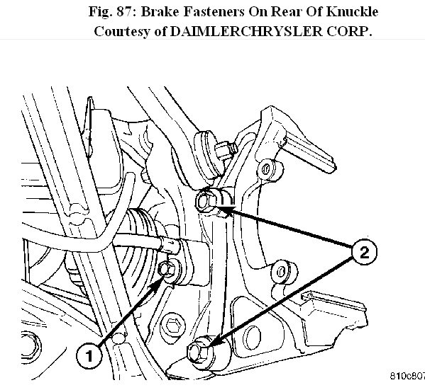 How To Take Rear Brake Assembly Apart To Replace The