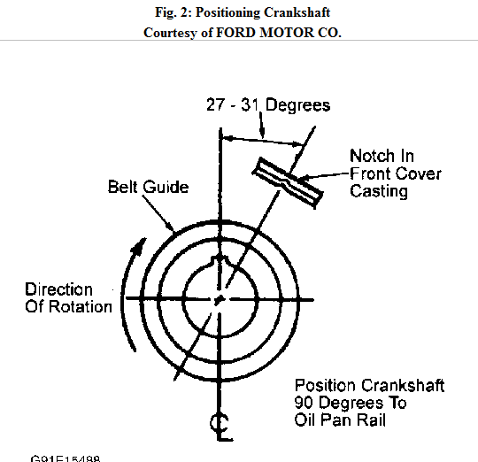 I Need To See A Diagram Of A Ford Mustang 2 3 4cl Duile Plugscrank