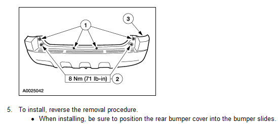 I Need To Replace The Rear Bumper Cover On My 2002 Ford Escape I