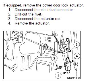 My 1999 Ford Explorer Xlt Drivers Door Lock Will Not Pop