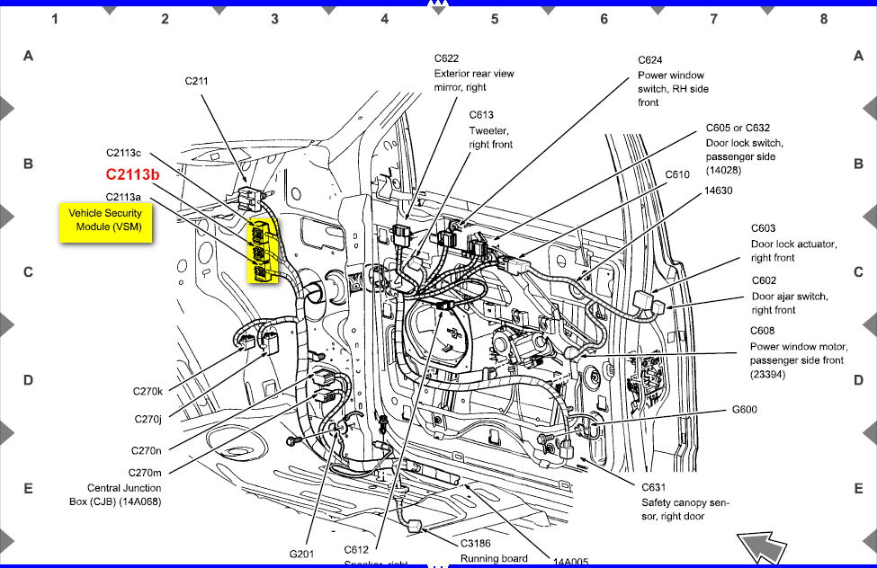 2007 ford freestyle stereo wiring diagram 1992 ford