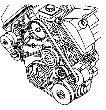 I Need A Diagram For Putting In A Serpentine Belt