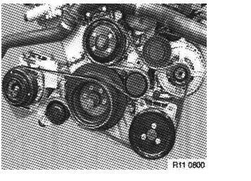 I have a 1997    bmw       328 I    I need the belt routing    diagram    for the water pump alternator and ac
