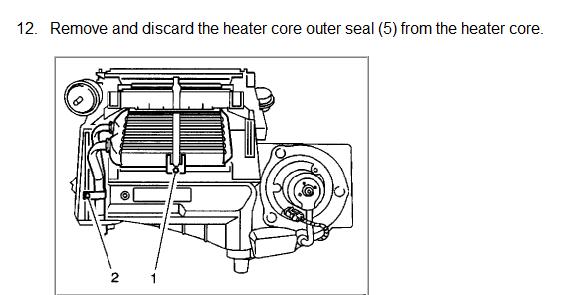 1994 buick regal custom heater core