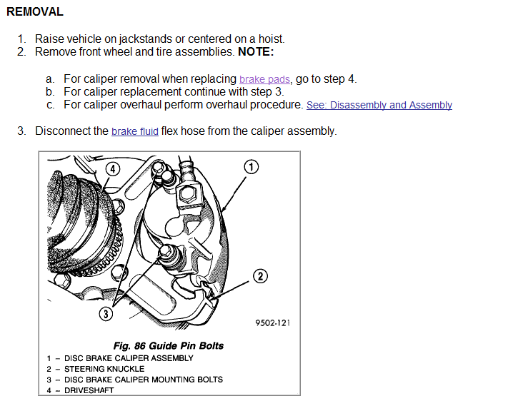Can You Get Me A Diagram Of The Front Brakes On A 1997 Dodge Caravan  How Do I Change Brake Pads