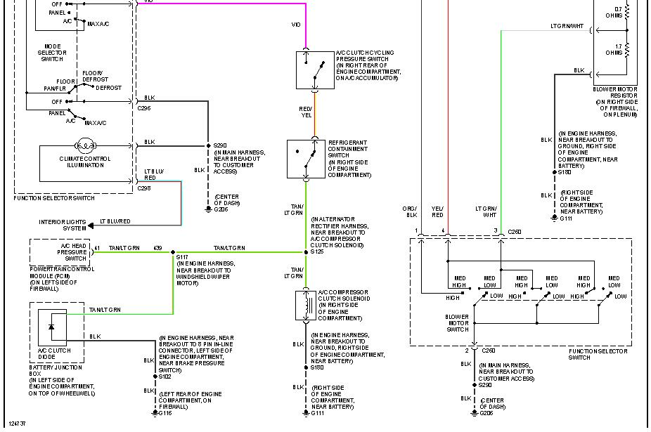 Ford F350 Air Conditioning Problems Blowing Warm Airrhjustanswer: Ford F 350 Wiring Diagram Ac At Gmaili.net