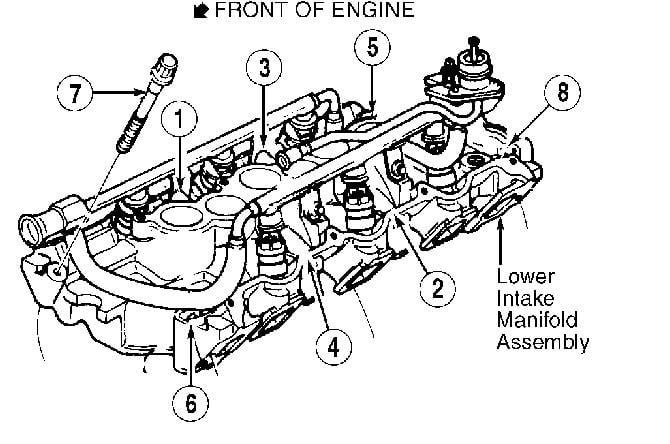 97 Ford Taurus 30l Pushrod Motor Vin Code Utorque Specsintake. Ask Your Own Question. Mercury. 2002 Mercury Sable Intake Manifold Diagram At Scoala.co
