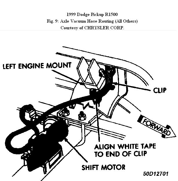 99 Dodge Ram 2500 Vacuum Diagram
