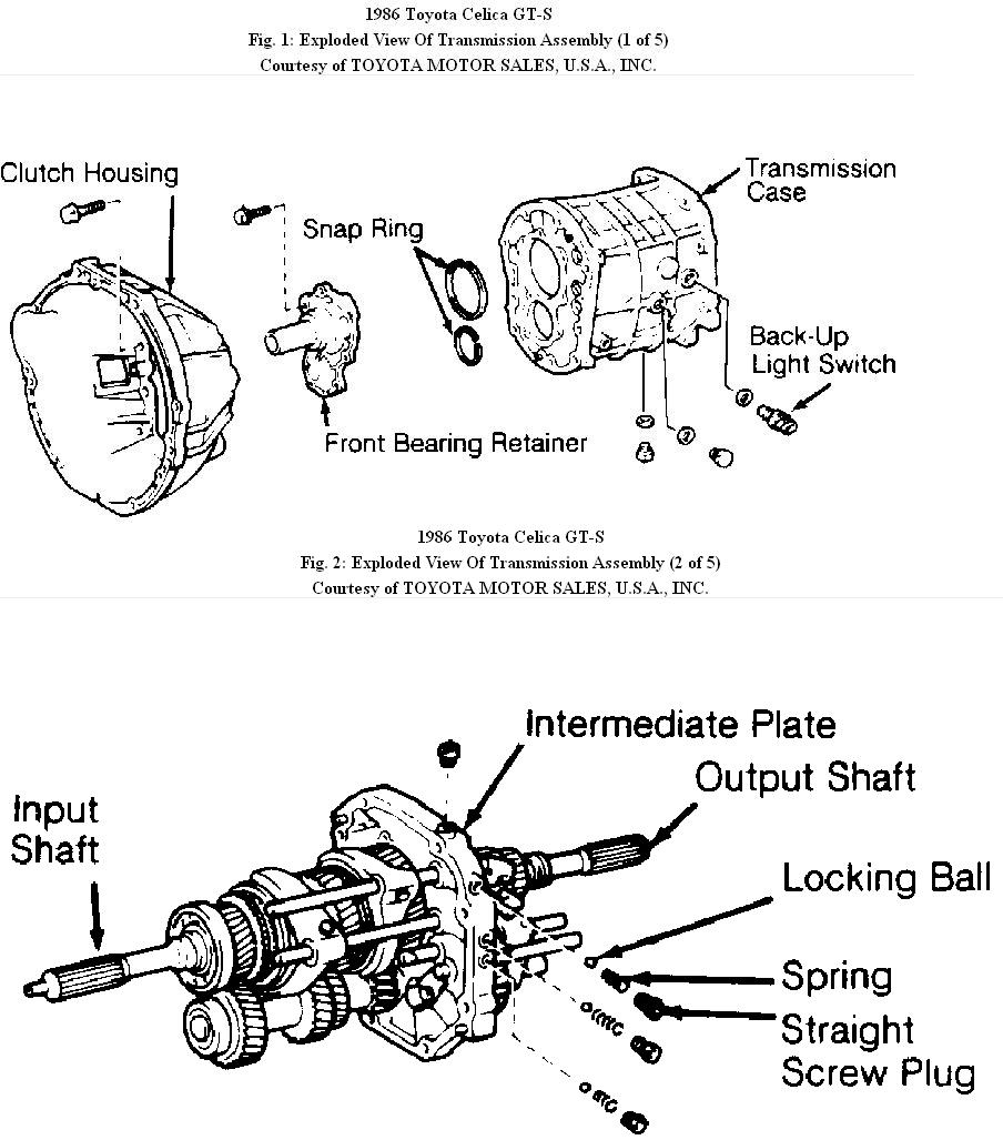 Toyota Celica Gt Engine Diagram Wiring Library Motor For A Of 1986 1989 Gts Manual Transmisson Transmission12 Details