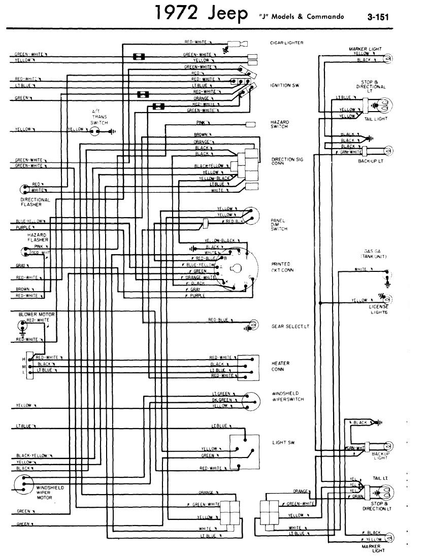 1972 jeep commando wiring diagram all wiring diagram Jeep J10 Wiring
