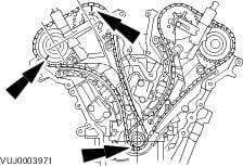 Timing on Jaguar S Type Timing Chain V6