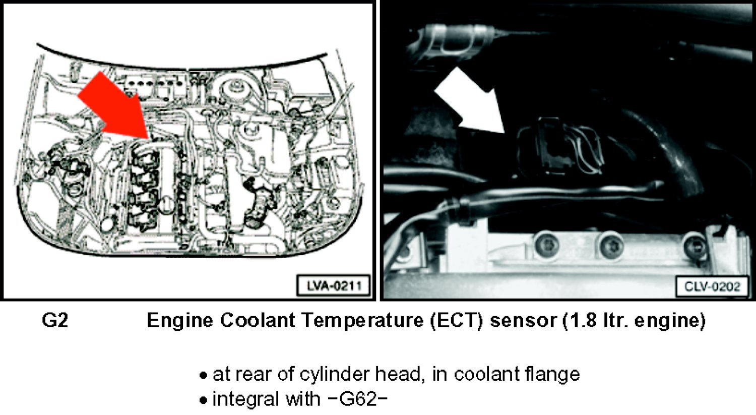 2003 Passat  Where Is The Location Of The Cooling Temperature Sensor  I Am Having The Same P2181