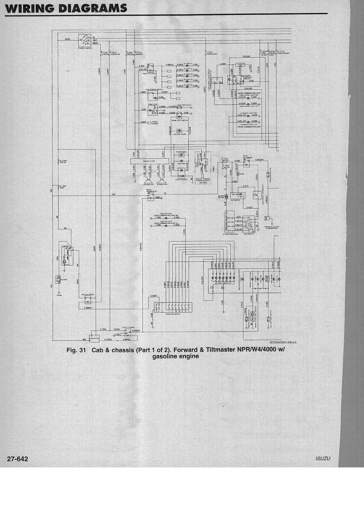 2009 06 21_140331_Isuzu_npr_gas_wiring_pg1 wiring diagrams gm isuzu 1995 1 2 w4 4000 npr (gasoline) isuzu npr tail light wiring diagram at gsmportal.co