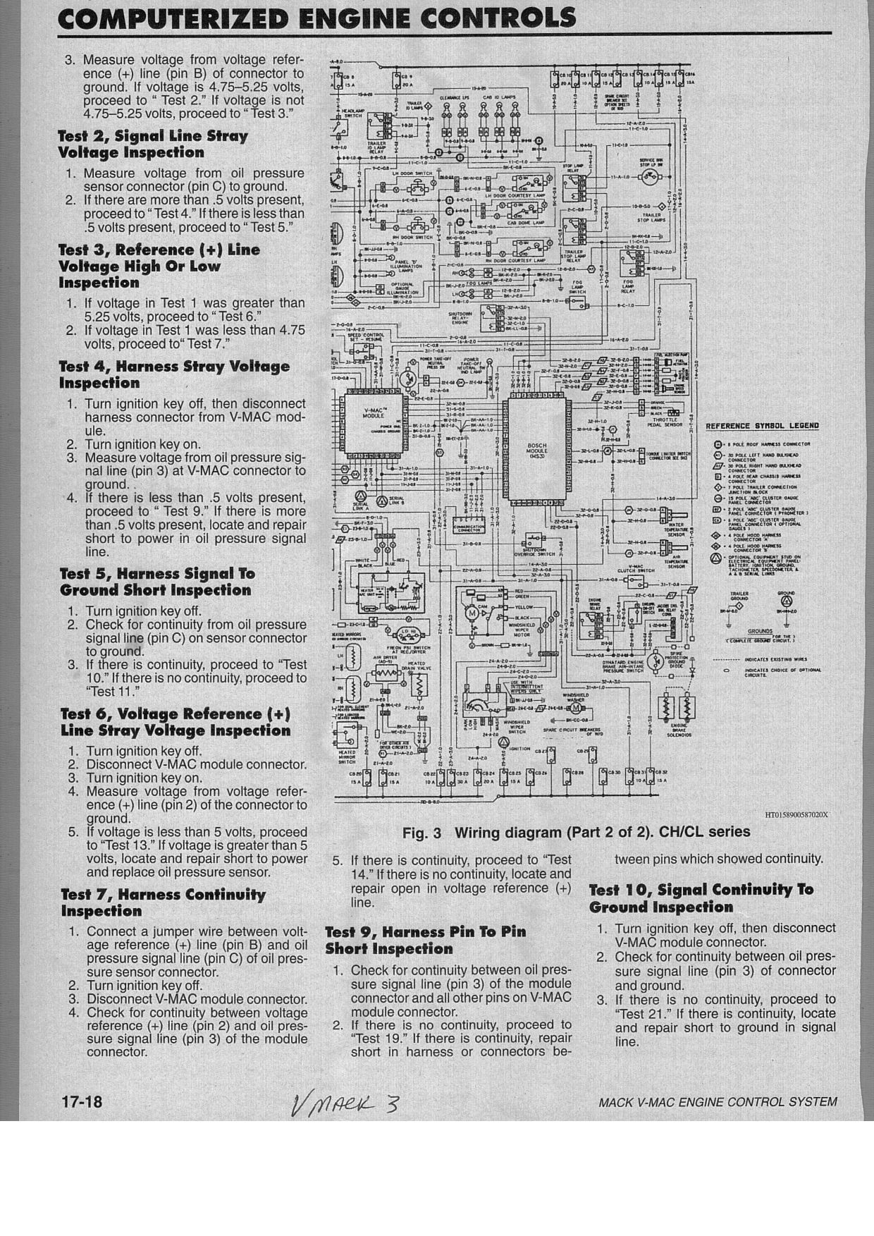2009 Mack Wiring Diagram Another Blog About Fuse Box Schematic What Would Cause The Clutch Fan To Blow Continuously On A