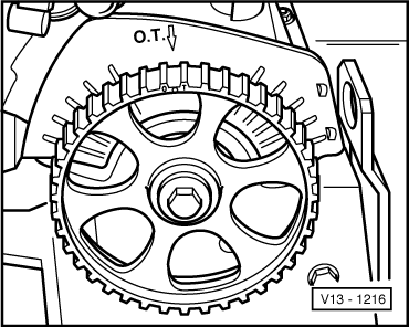 [ZHKZ_3066]  What is the proper alignment of a 1997 Golf 2.0L 8 valve crank shaft and  intermediate sprocket to each other at top dead | Vw 2 0 Aeg Engine Diagram |  | JustAnswer