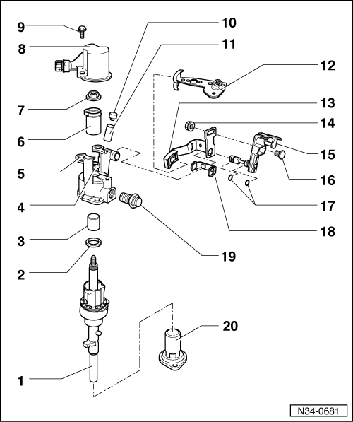 2002 vw beetle shifter parts diagram  diagram  auto wiring