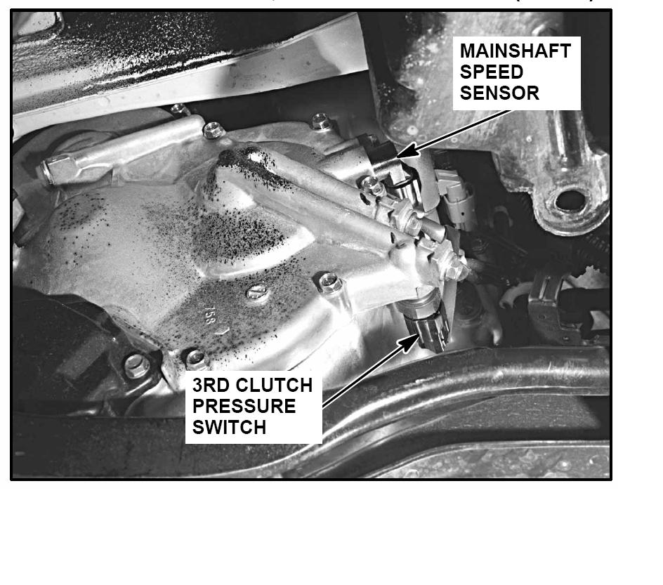 P1739 3rd Clutch Pressure Switch On 1999 Honda Accord