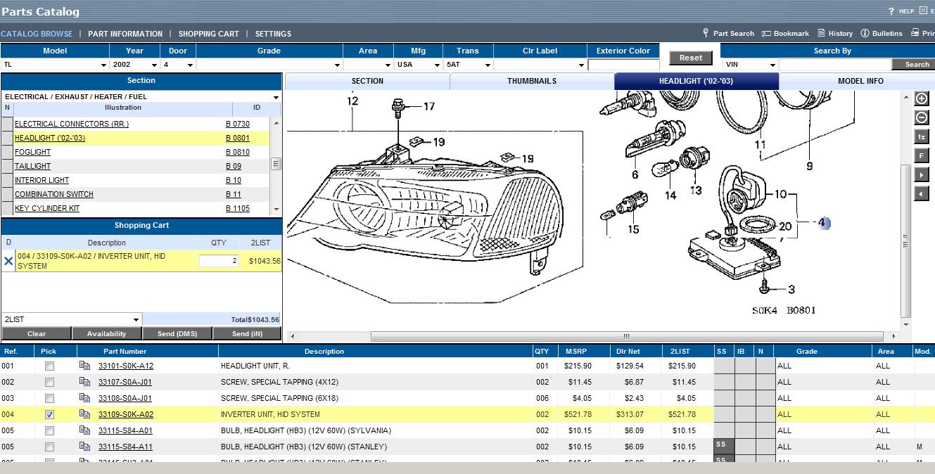 2002 Acura Tl Headlight Wiring Diagram Custom Example Electrical U2022 Rh 162 212 157 63 2001 2000