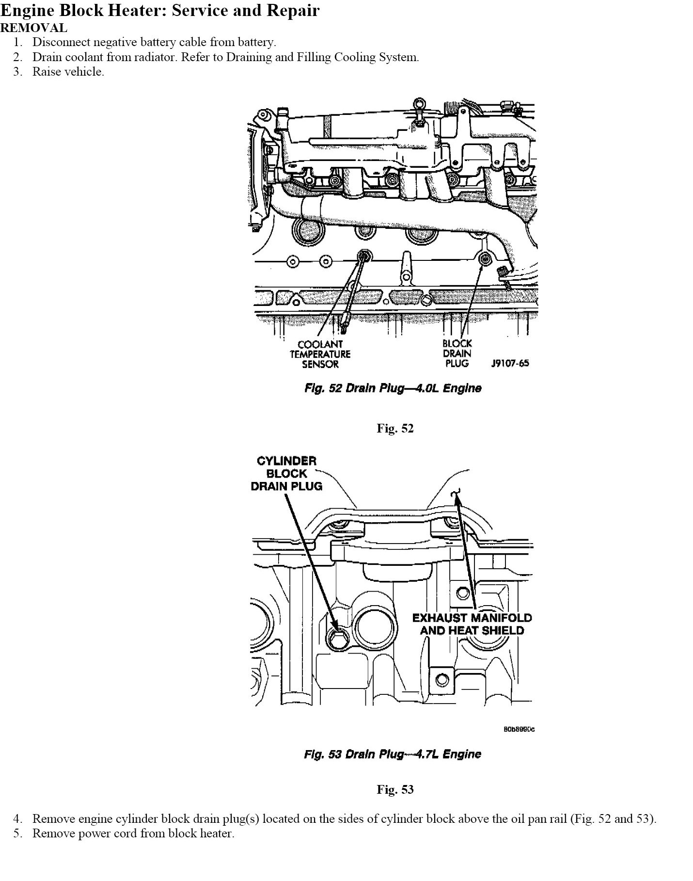 2004 jeep grand cherokee 4 0l engine coolant diagram