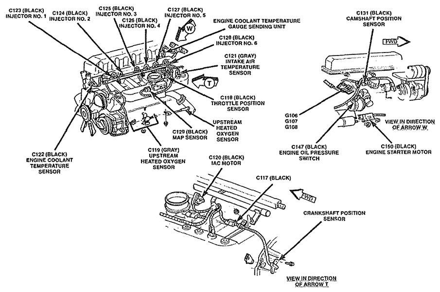 2003 Grand Am 3400 V6 Engine Diagram